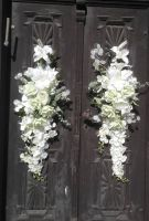Svatební květinová dekorace